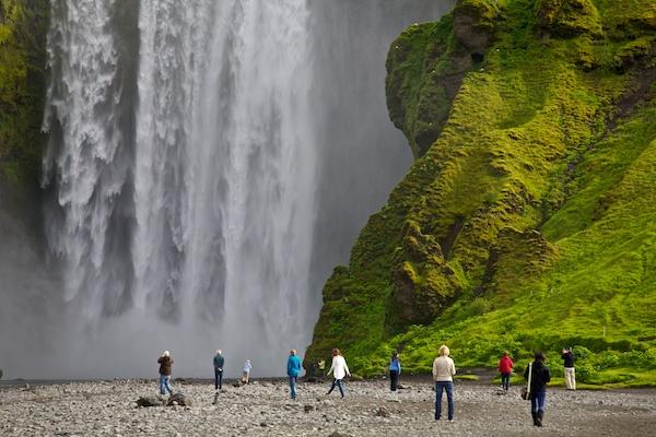 Skogafoss waterfall, Iceland, Vytautas Serys