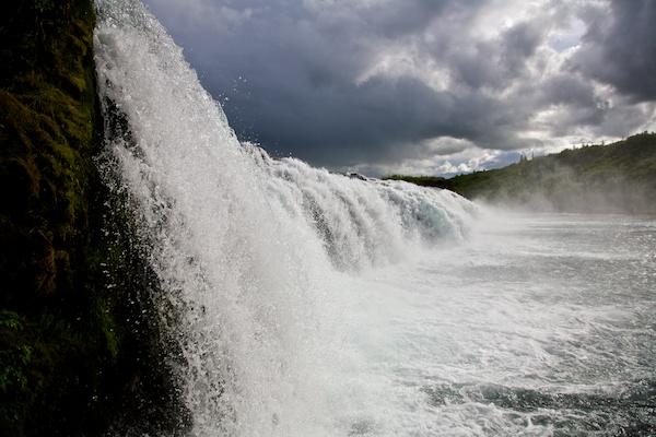 Westfjords Waterfall, river, Iceland, Vytautas Serys