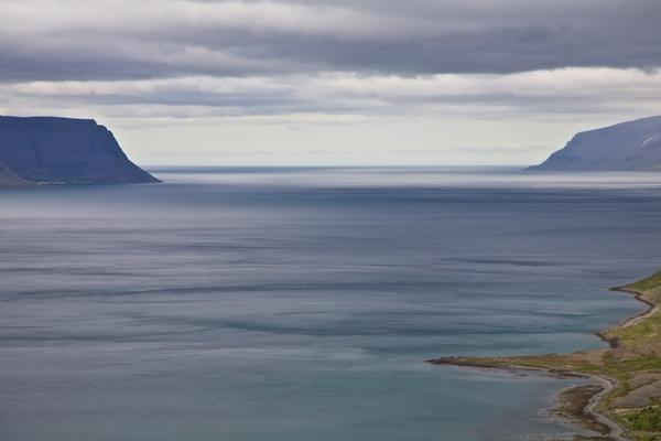 Westfjords cloudy sea, landscape, Iceland, Vytautas Serys
