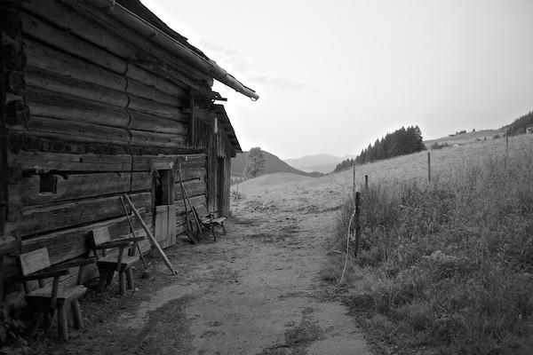 Vytautas Serys, Alps, Austria, Farm